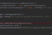 Caused by: javax.websocket.DeploymentException: Cannot deploy POJO class